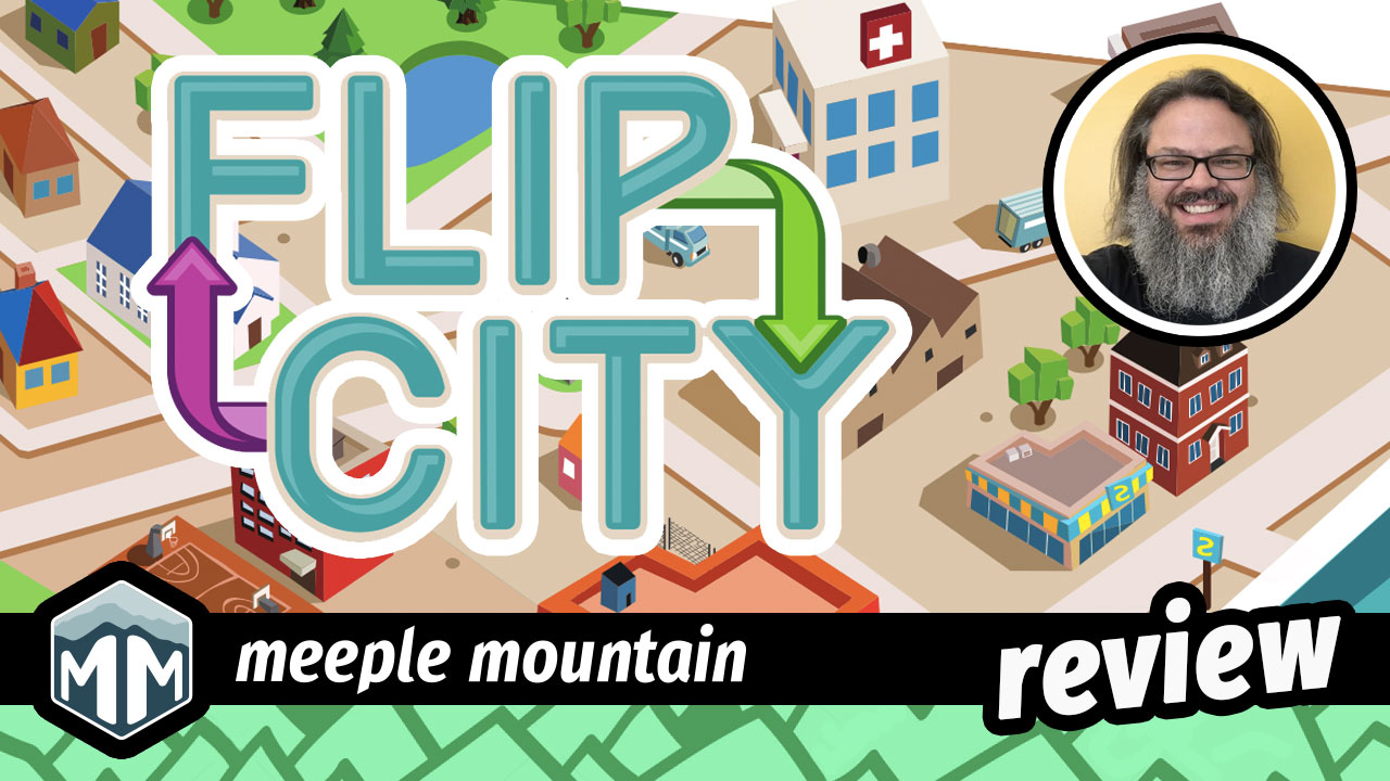 Flip City Review - City Planning Flipped Upside Down | Meeple Mountain image