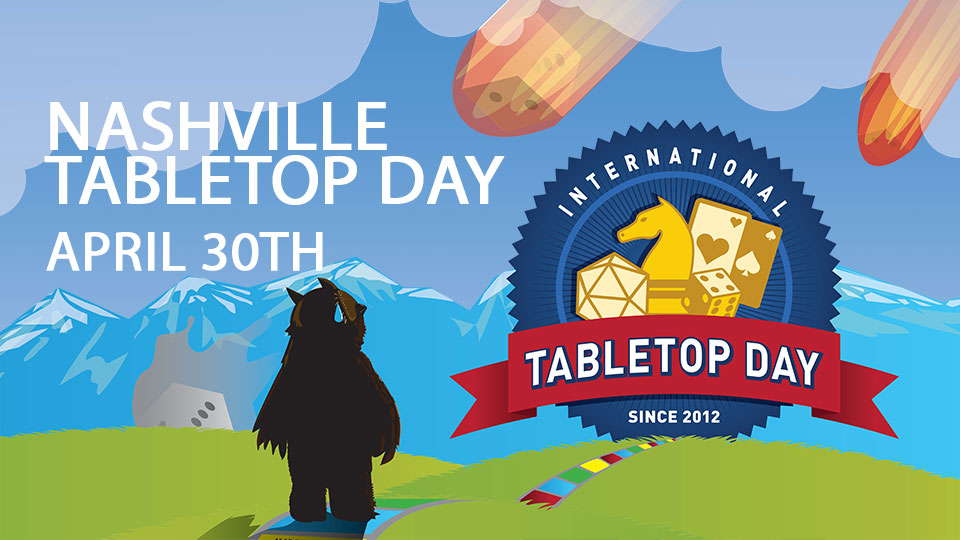 Nashville Tabletop Day 2016 Registration Now Open
