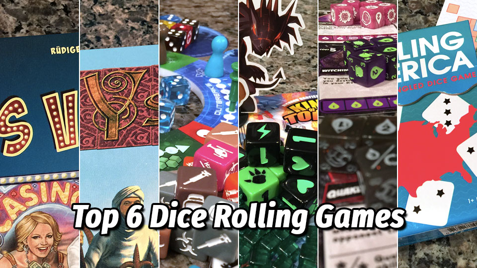 Top 6 Dice Rolling Games | Meeple Mountain