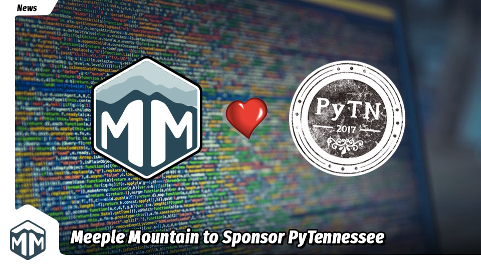Meeple Mountain to Sponsor PyTennessee Tech Conference