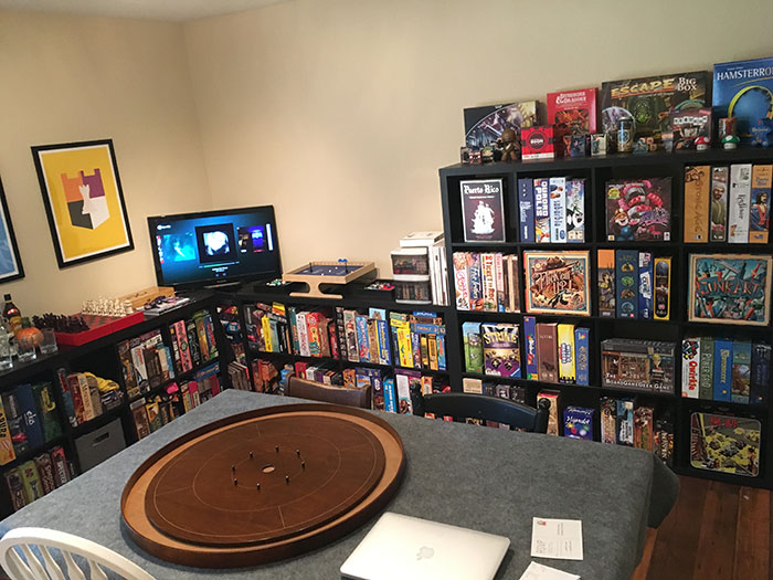 My behemoth of a game room