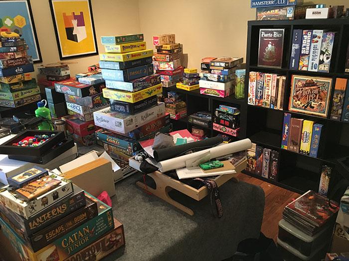 Organizing my games