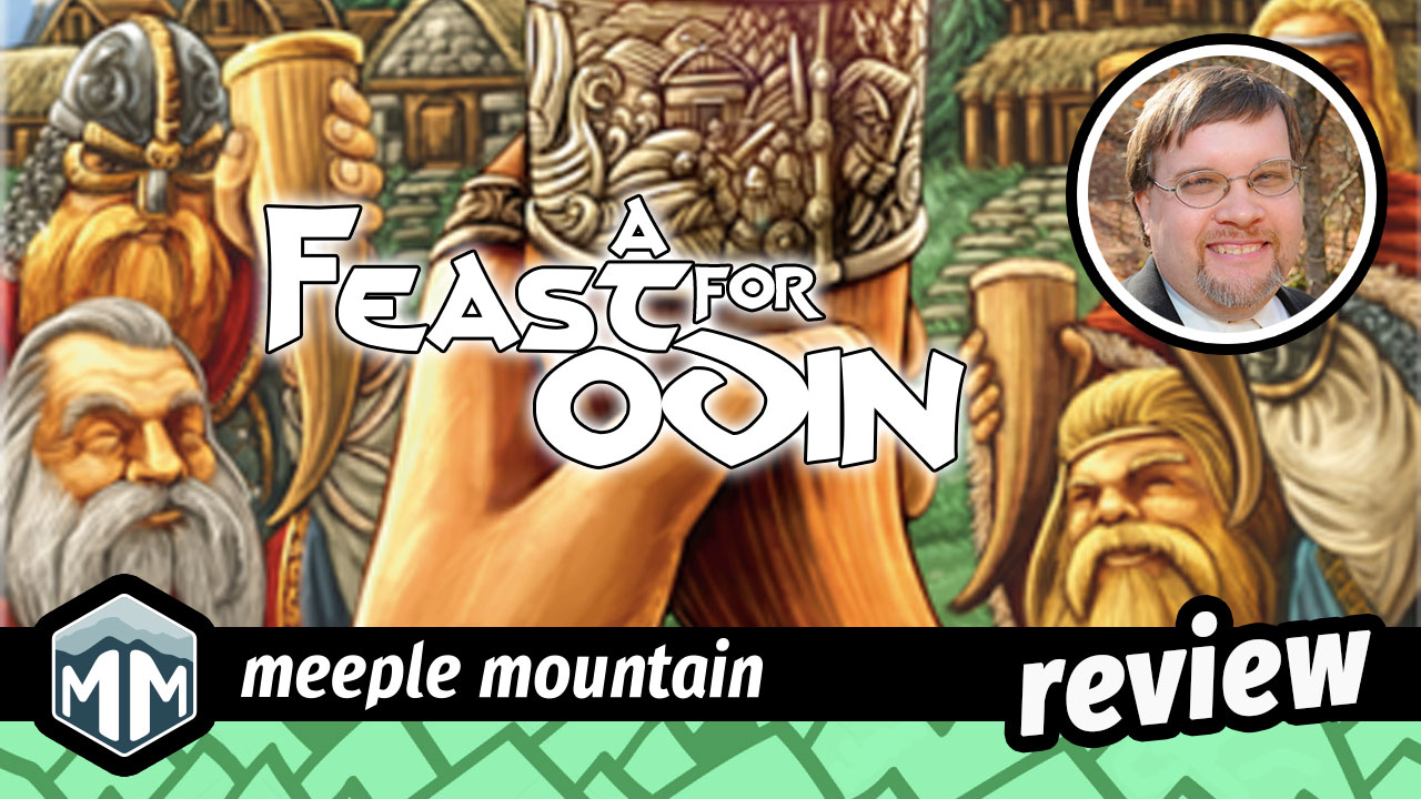 A Feast for Odin Review - A Feast Fit For a Vi-King | Meeple Mountain image