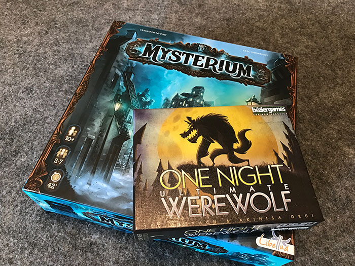 Mysterium & One Night Ultimate Werewolf