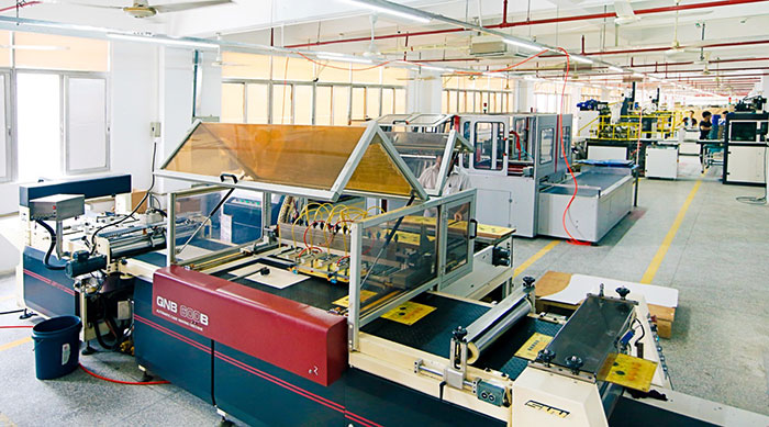 Panda Manufacturing factory floor