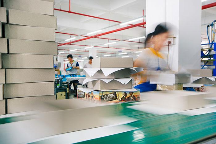 Panda manufacturing line