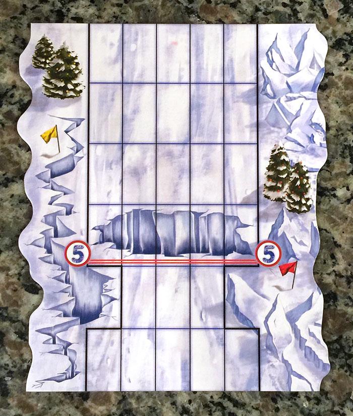Snow Tails track piece