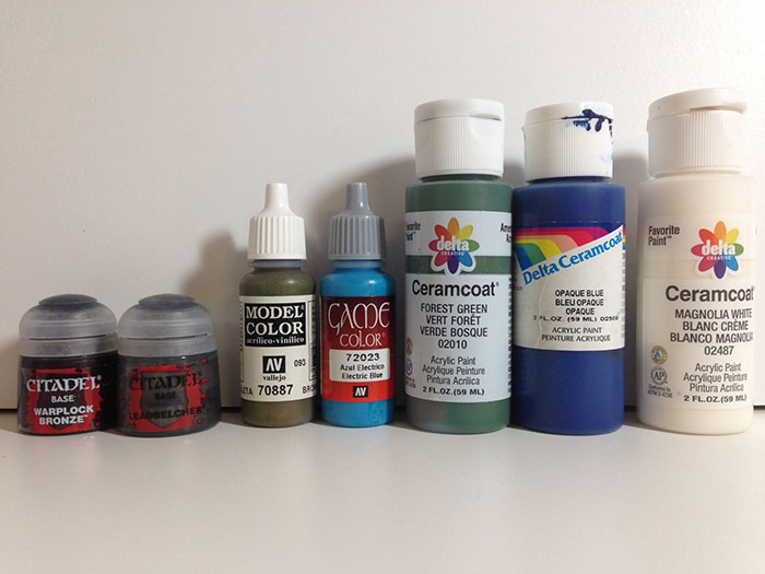 various types of paint
