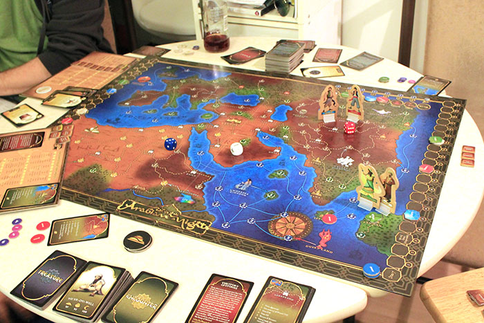 Arabian Nights board game