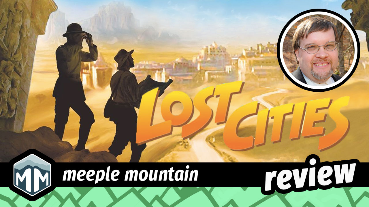 Lost Cities Review - Reiner Knizia | Meeple Mountain image