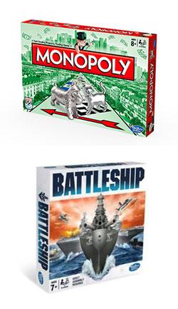 Monopoly / Battleship