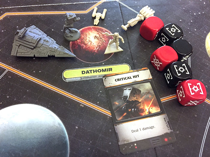 Star Wars: Rebellion - combat