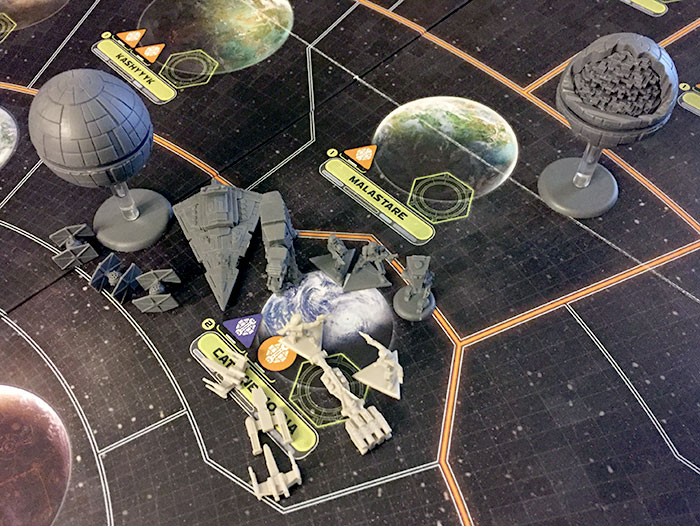 Star Wars: Rebellion - miniatures