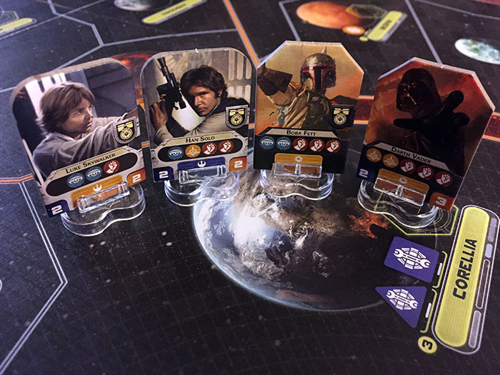 Star Wars: Rebellion - leaders