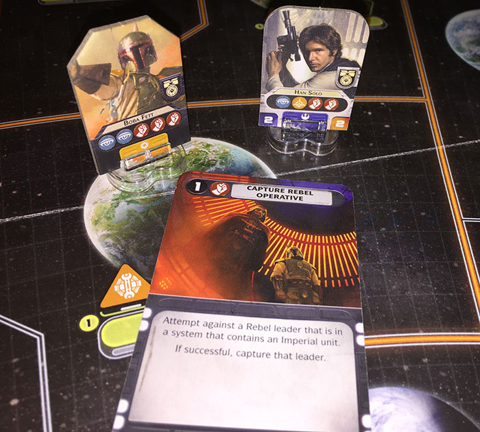 Star Wars: Rebellion - opposing missions