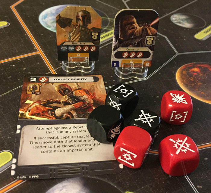 Star Wars: Rebellion - mission dice