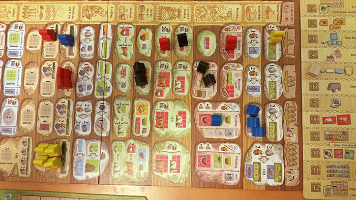 A Feast for Odin - action selection