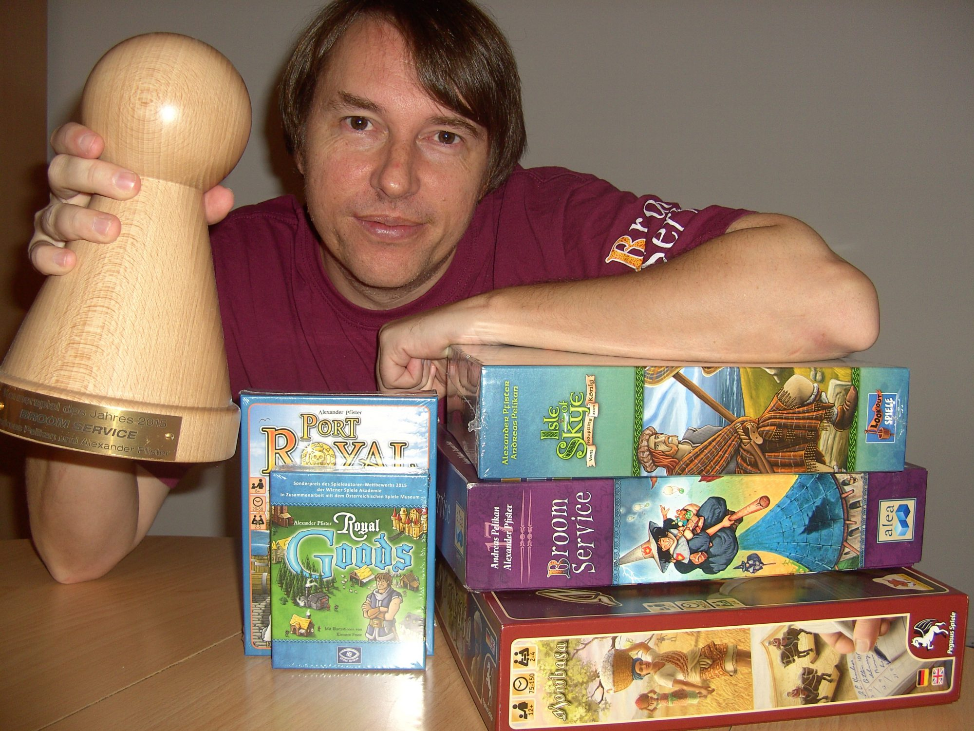 Alexander Pfister and his games