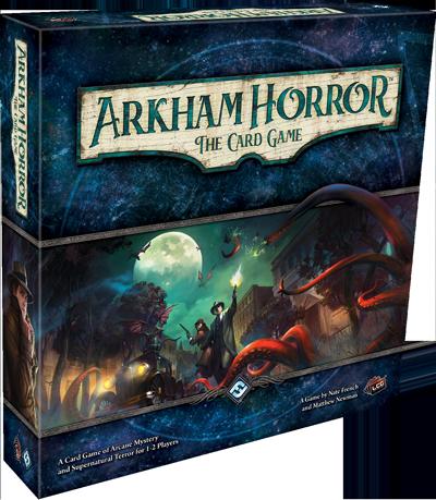 Arkham Horror Card Game box