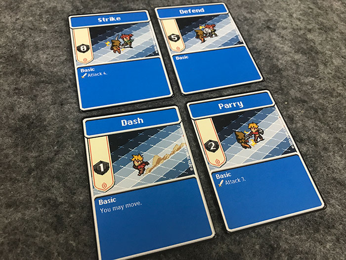 Basic action cards