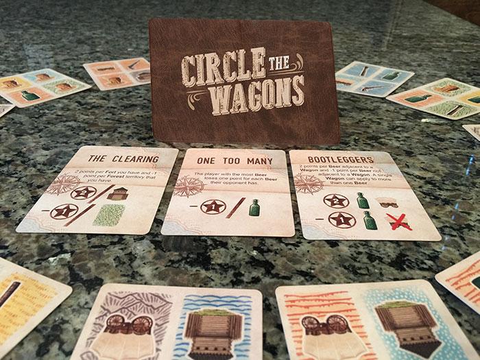 Circle the Wagons layout