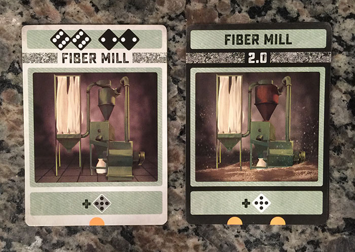 Colony card - Fiber Mill