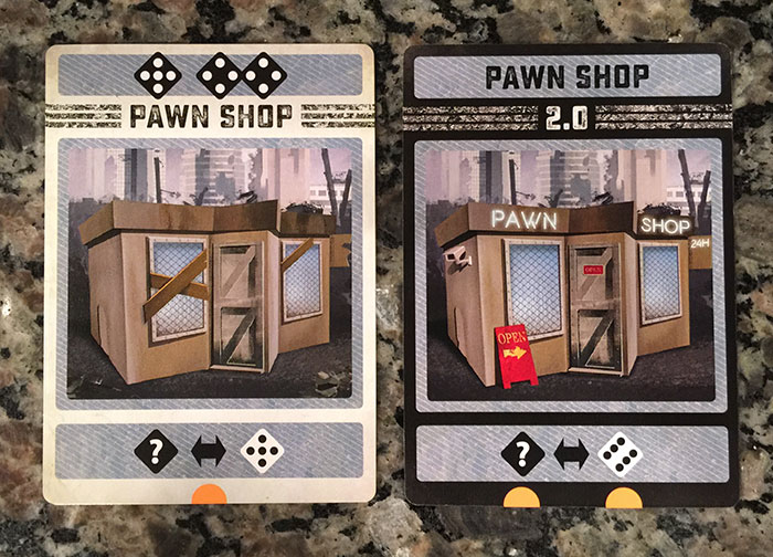 Colony card - Pawn shop