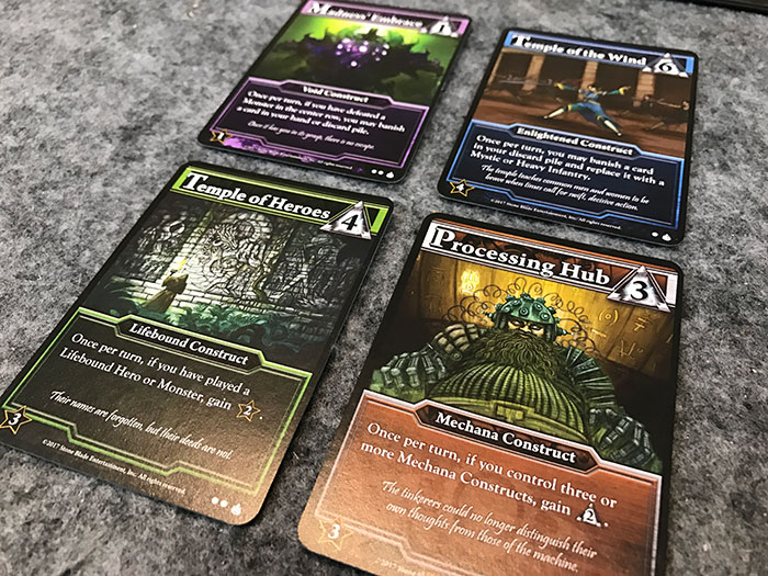 Construct cards