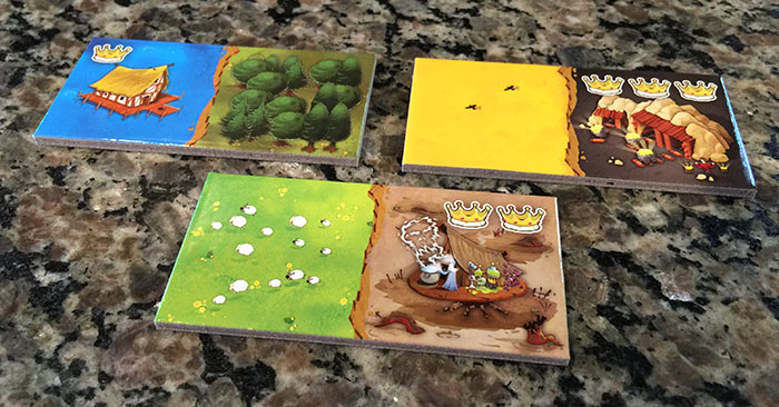 Kingdomino crown tiles