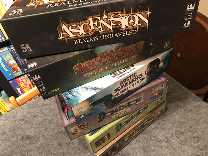 Other deckbuilding games