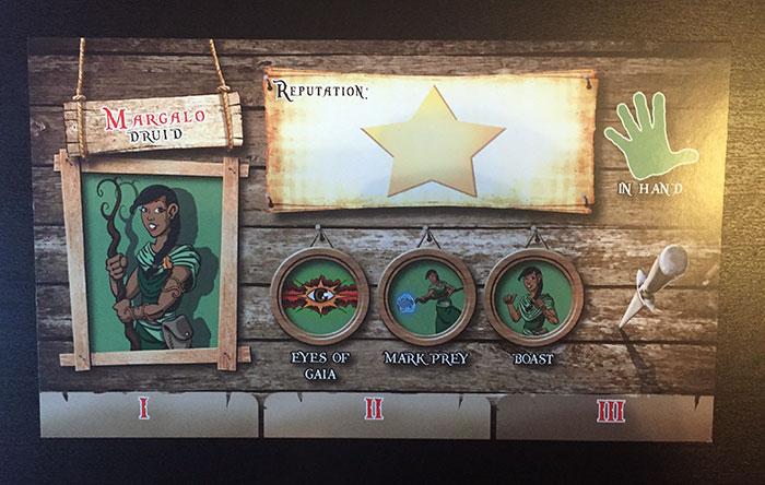 The Dragon & Flagon player card
