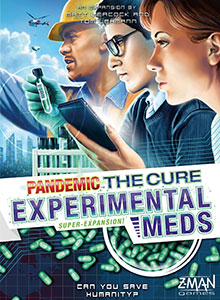Pandemic: The Cure - Experimental Meds cover