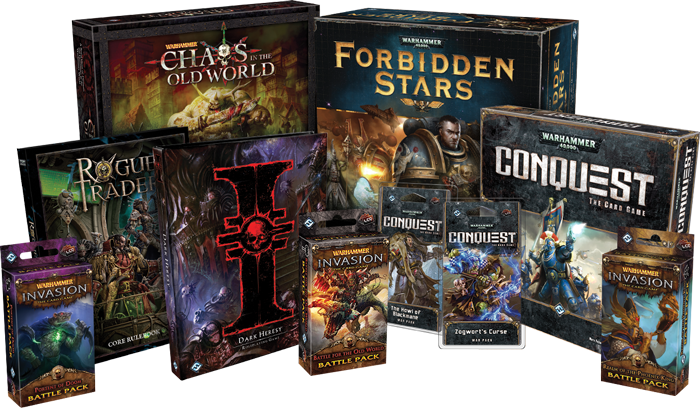 Fantasy Flight and Games Workshop Games