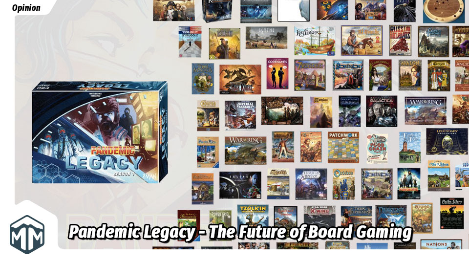 Pandemic Legacy - The Future of Board Gaming | Meeple Mountain image