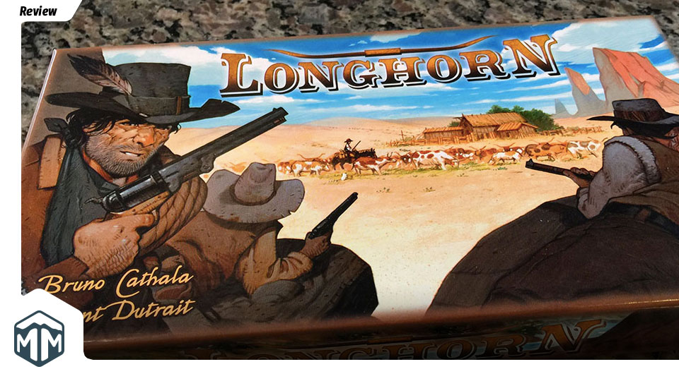 Longhorn Review - Bruno Cathala | Meeple Mountain image
