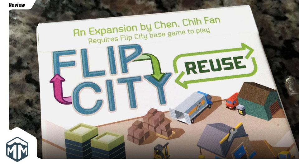 Flip City Reuse Review - Chih-Fan Chen | Meeple Mountain image
