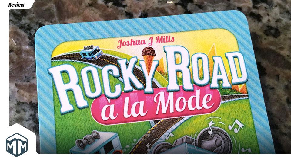 Rocky Road a la Mode Review - Joshua J Mills | Meeple Mountain image