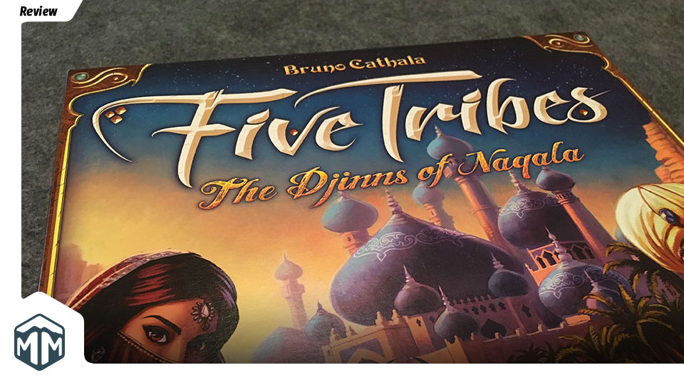 Five Tribes Review - Bruno Cathala | Meeple Mountain image