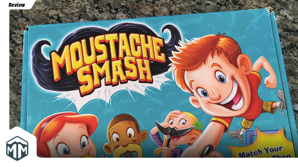 Moustache Smash Review - Dustin DePenning, Nick Hayes, Brady Lang | Meeple Mountain image