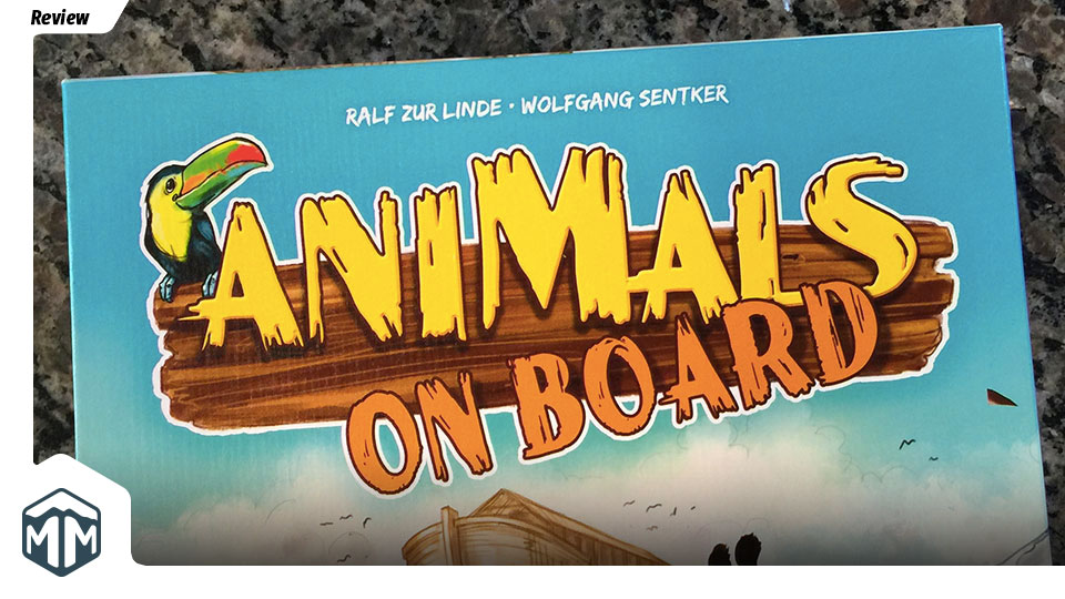 Animals on Board - A Review of Biblical Proportions | Meeple Mountain image