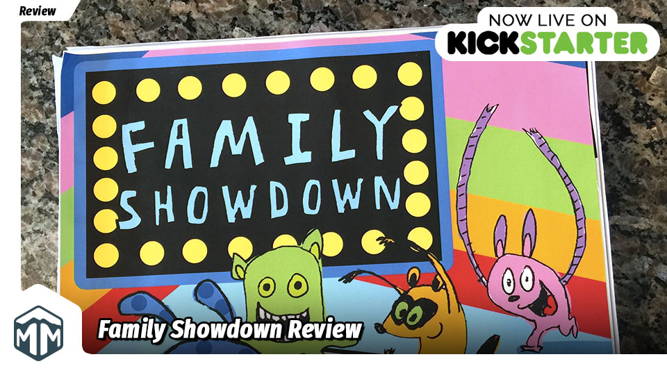 Family Showdown Review - The Holderness Family   Meeple Mountain image