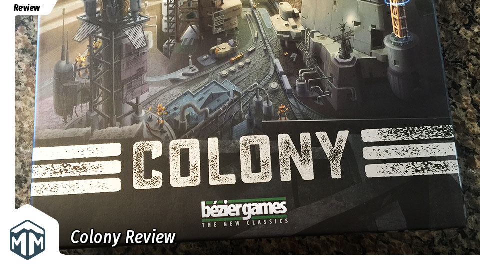 Colony Review - Post Apocalyptic Dice Rolling | Meeple Mountain image