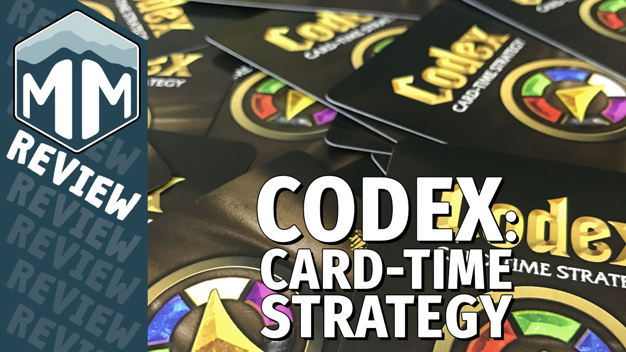 Codex Card-Time Strategy Review - David Sirlin | Meeple Mountain image