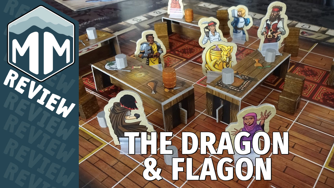 The Dragon & Flagon Review - Brian Engelstein, Geoff Engelstein, Sydney Engelstein | Meeple Mountain image