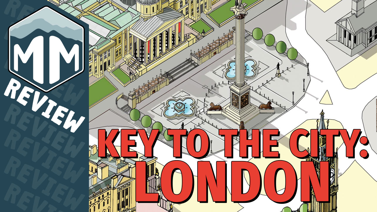 Key to the City: London Review - Sebastian Bleasdale, Richard Breese | Meeple Mountain image