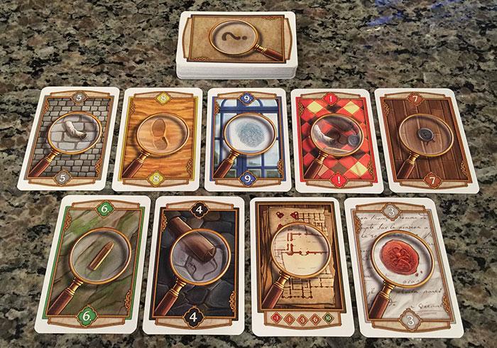 Holmes: Sherlock & Mycroft clue cards