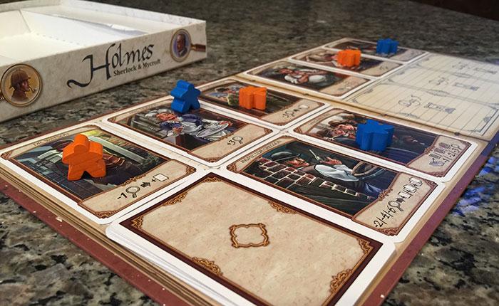 Holmes: Sherlock & Mycroft gameboard
