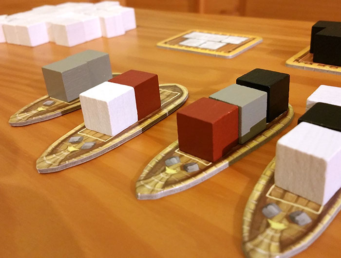 Imhotep boats ready to sail
