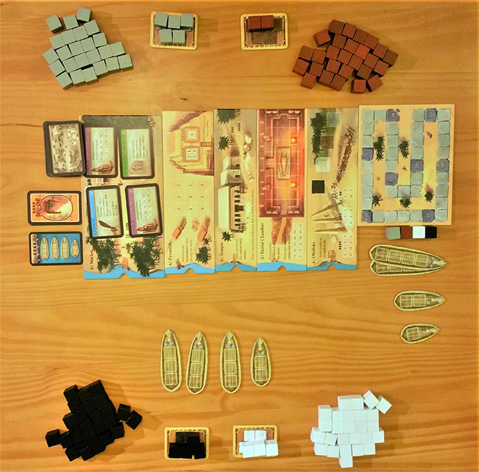 Imhotep four player setup