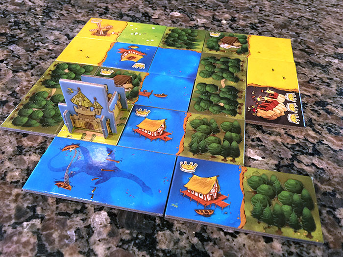 Kingdomino incomplete kingdom